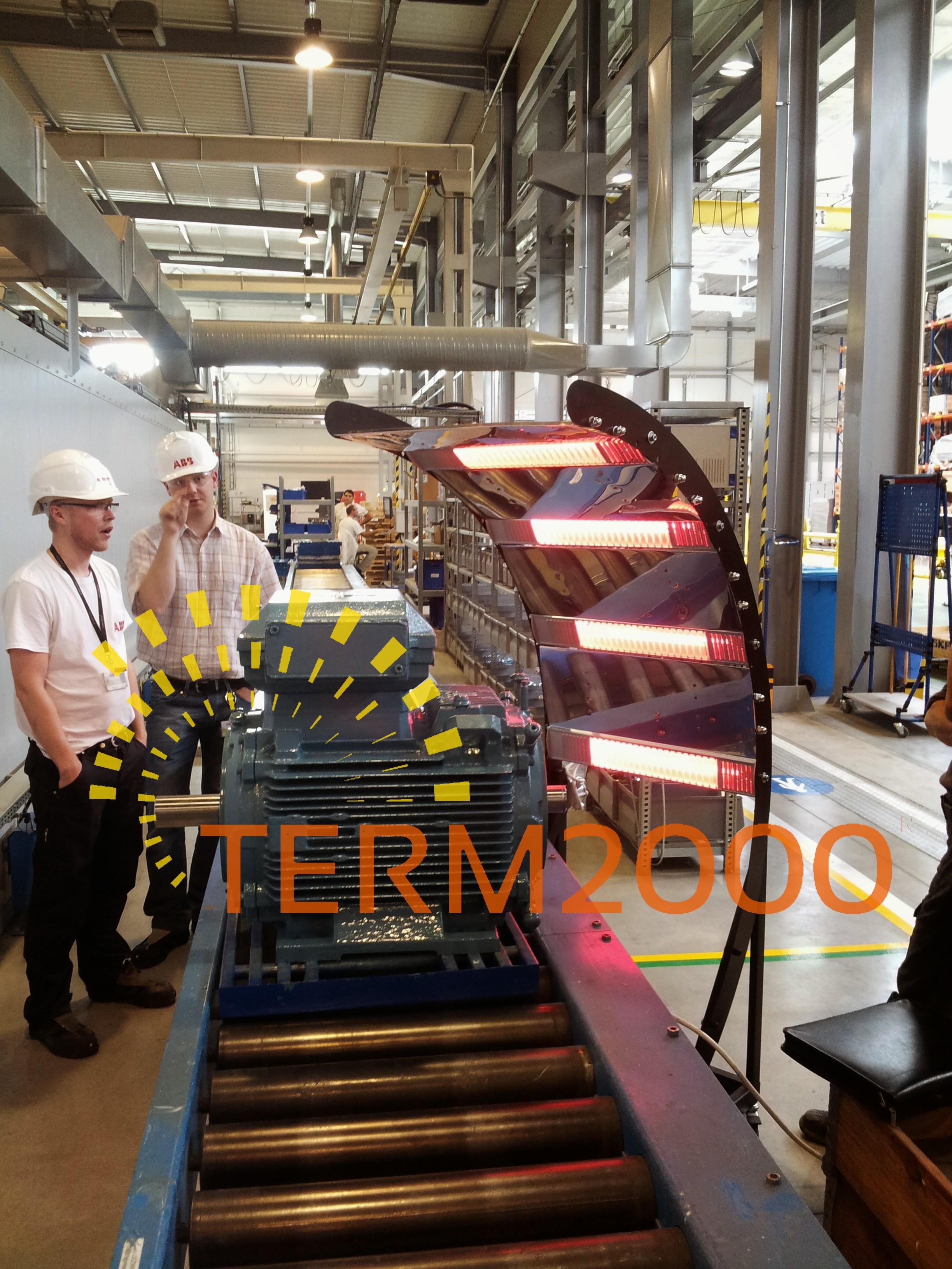 Promiennik podczerwieni TERM2000 Technology
